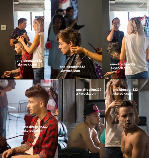 flash-back - voici des photo des boys dans les coulisse pour Magzine Fabulous 2013