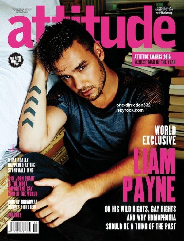 voici un nouveau photoshoot de liam pour Attitude Magazine 2015