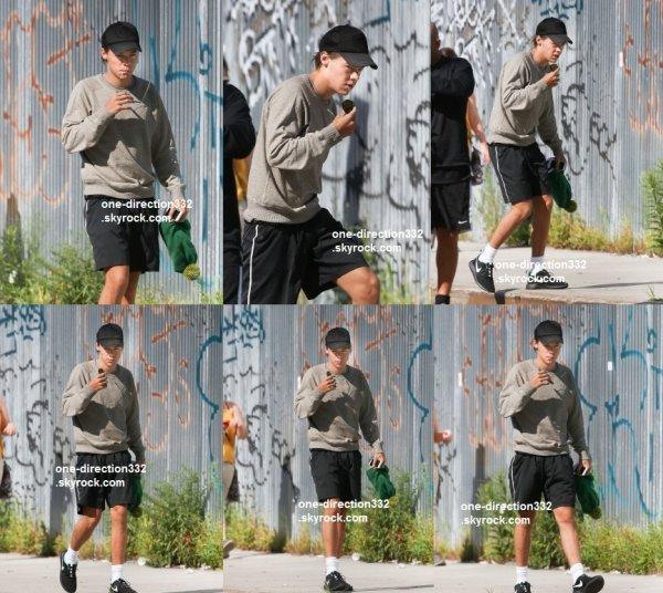 flash-back - le 3 aout 2014 - Liam sur la Cinquième Avenue à New York