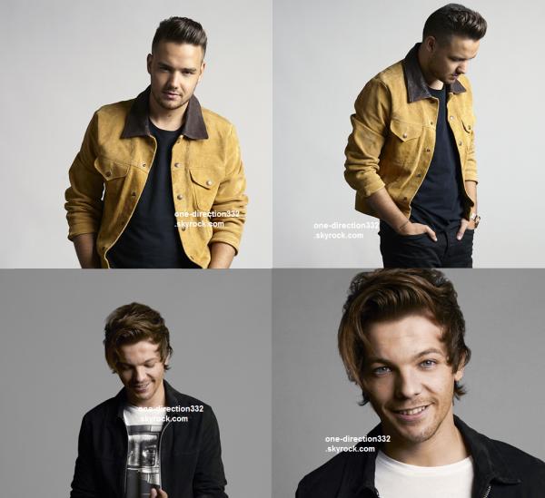 voici un nouveau photoshoot des boys pour leur Site officiel 2015