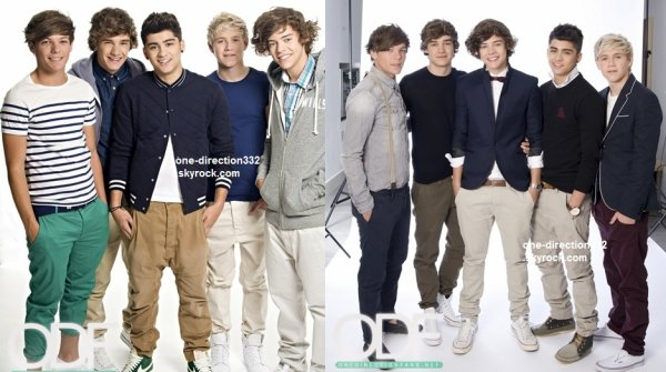 flash-back - voici un photoshoot des boys pour Top Of The Pops 2011