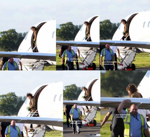 le 7 octobre 2015 - Harry, Liam et Niall arrivent à Glasgow