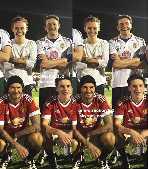 le 11 octobre 2015 - harry avec des fan