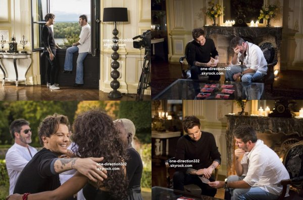 voici des photo promo de Louis sur X Factor