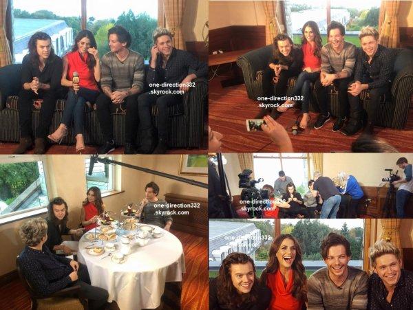le 23 octobre 2015 - harry avec des fan à belfast