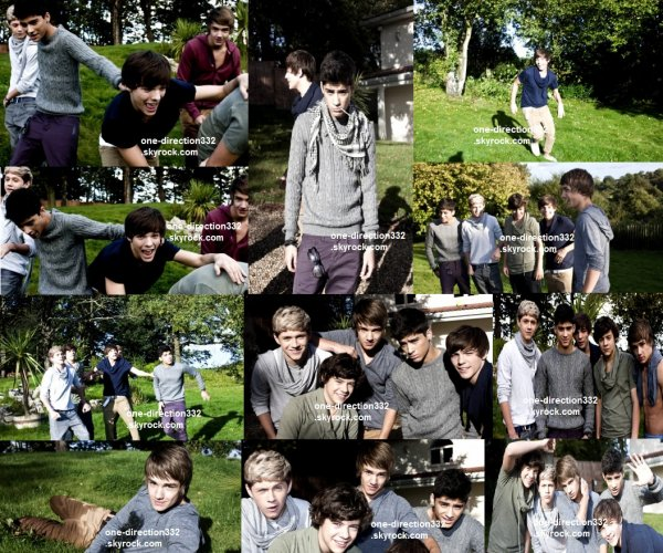 flash-back - voici un photoshoot des boys pour X Factor shoot magazine 2010