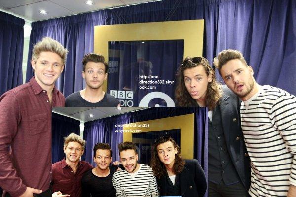 le 13 novembre 2015 - les boys arriver à BBC Radio 2 Studios à londres