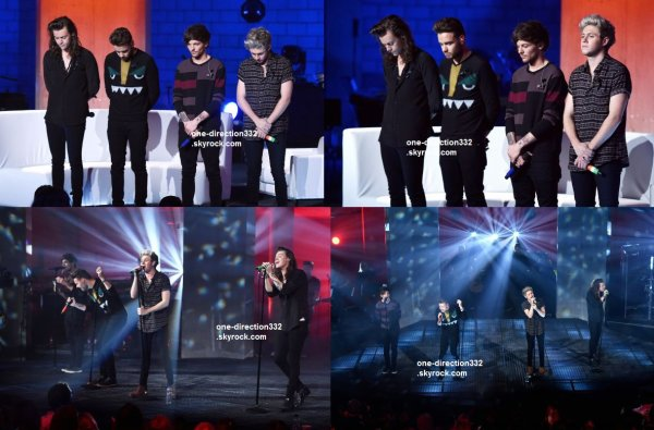 le14 novembre 2015 - les boys au London Session à londres