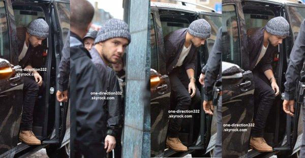 le 15 novembre 2015 - Liam à Londres