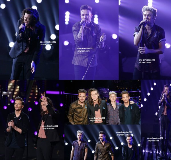 le 15 novembre 2015 - les boys au X Factor UK à londres