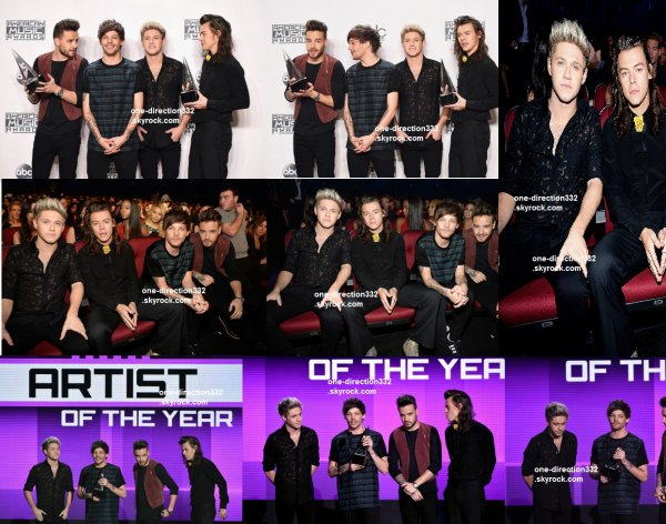 le 22 novembre 2015 - les boys aux American Music Awards à los angeles