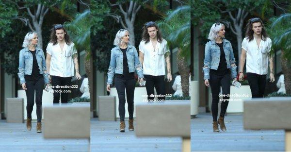 le 24 novembre 2015 - Harry dans LA