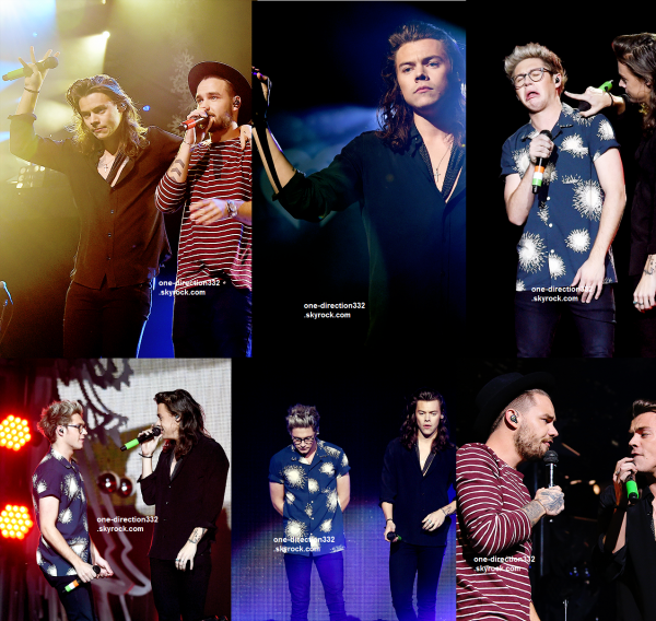le 1 décémbre 2015 - les boys au 106.1 KISS Jingle Ball