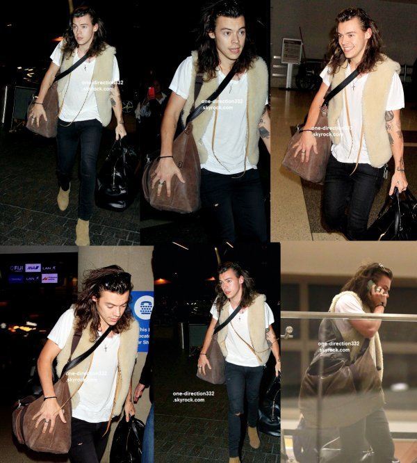 le 7 decembre 2015 - louis à l'aéroport de los angeles