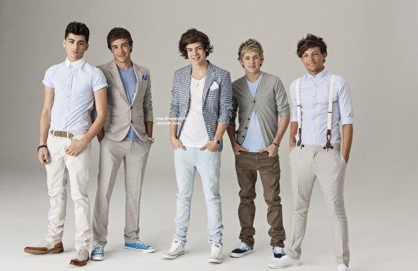 voici un photoshoot des boys pour Desconhecido datant 2012