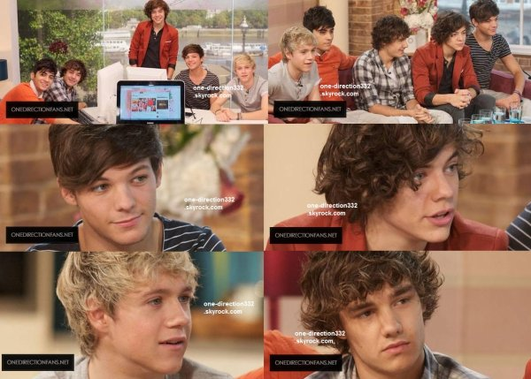 le 16 septembre 2011 - les boys aux On 'This Morning'