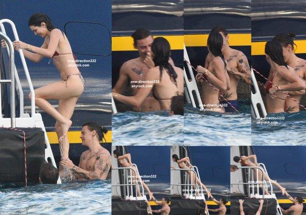 le 1 janvier 2016 - Harry et Kendall à Saint-Barthélemy