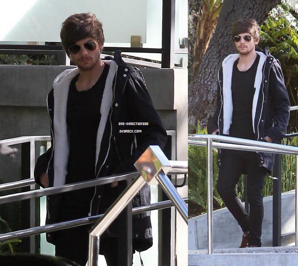Le 26 janvier 2016: Louis partait de la maison de Briana.