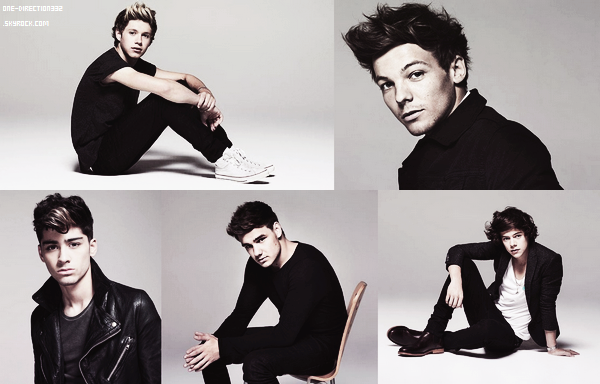 Flashback: Photoshoot des One Direction datant de 2012 pour Fabulous Magazine.