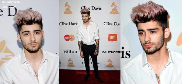 Le 14 février 2016: Zayn et Harry et Louis étaient aux Pré-Grammy's.