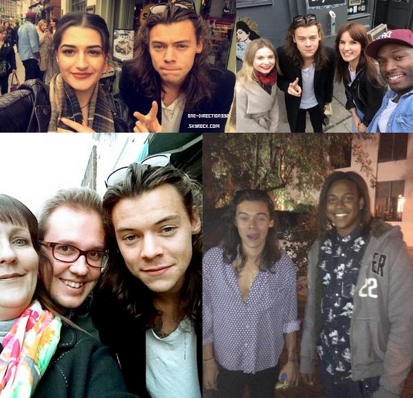 Photos personnelles de Zayn et photos de Harry et des fans.
