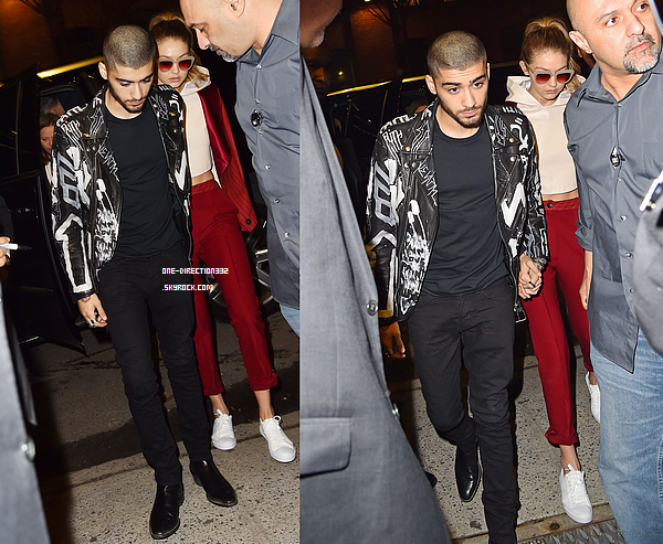 Le 25 mars 2016: Zayn a été vu sortant de son hôtel à New York City.