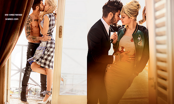 Zayn pour Vogue Magazine.