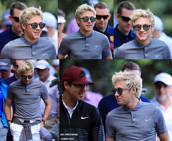 Le 07 et le 08 avril 2016: Niall s'est rendu au club de golf national en Georgie.