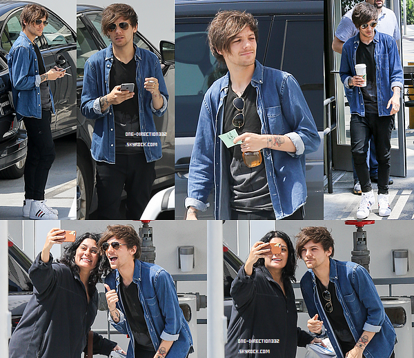 """Le 12 avril 2016: Liam et sa chérie arrivaient au restaurant """"Sexy Fish"""" à Londres."""