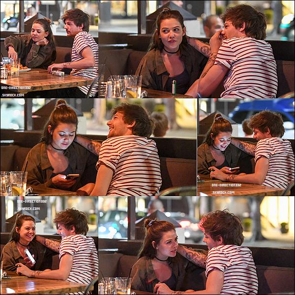 Le 18 avril 2016: Louis était de sortie dans West Hollywood.