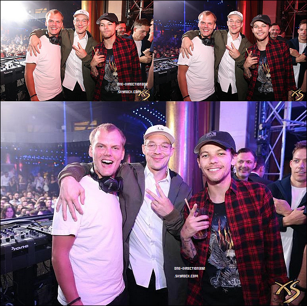 Le 29 avril 2016: Louis s'est rendu au The Grand opening of intrigue Nightclub à Las Vegas.