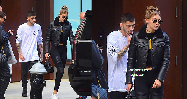 Le 07 mai 2016: Zayn a été vu arrivant à l'appartement de Gigi, à New York City.