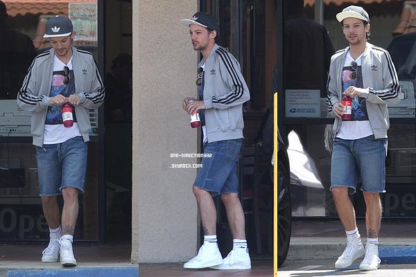 Le 03 mai 2016: Louis était au Subway, à Los Angeles.