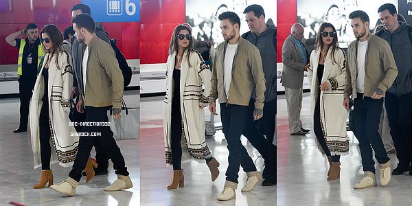 Le 09 mai 2016: Liam et Cheryl Cole ont été vus arrivant à l'aéroport Charles de Gaule, à Paris.
