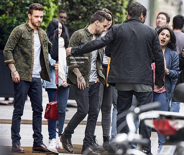 Le 11 mai 2016: Liam et Cheryl Cole ont été vus partant de leur hôtel, à Paris, en France.