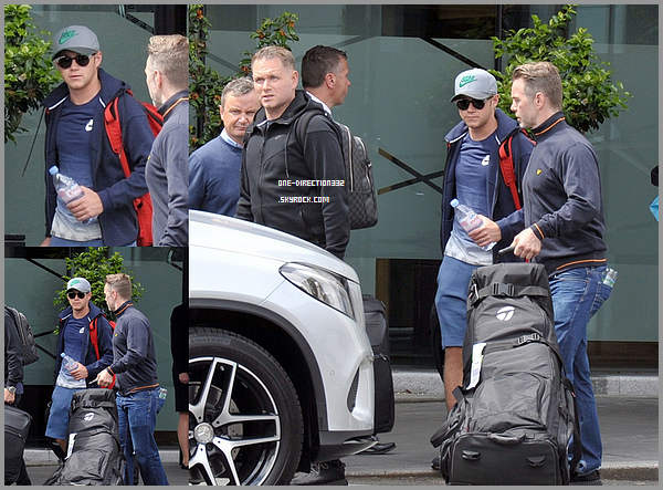 Le 17 mai 2016: Niall a été photographié à l'aéroport de London.