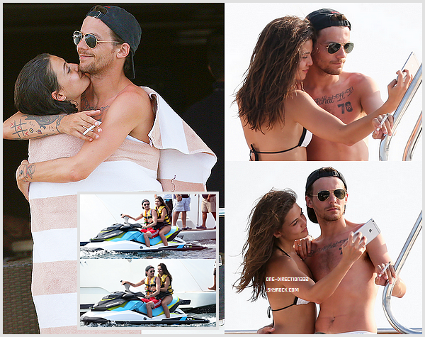 Le 14 mai 2016: Louis et Danielle ont été photographiés à San Lucas, en Mexique.