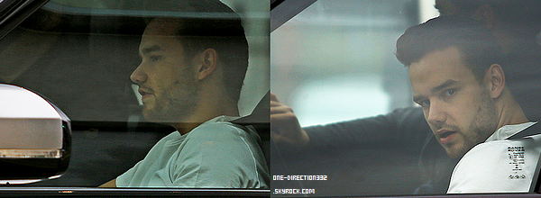Le 25 mai 2016: Liam a été vu dans une voiture à London.