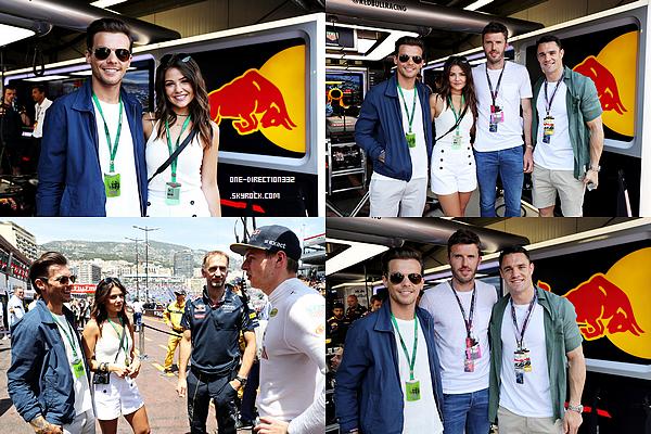 Le 28 mai 2016: Louis et Danielle ont été aperçus grand prix de formule 1 à Monaco.