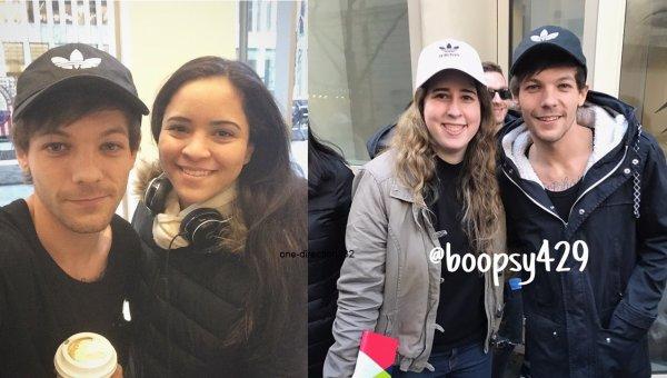 le 25 janvier 2017 - niall avec une fan à londre