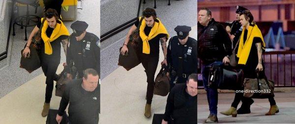 le 11 avril 2017 - harry arriver à new york city