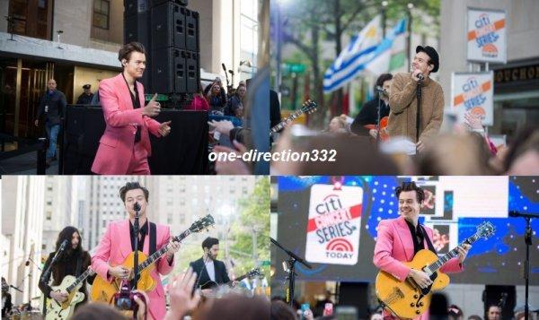 le 9 mai 2017 - harry à performer au NBC's 'The Today Show'