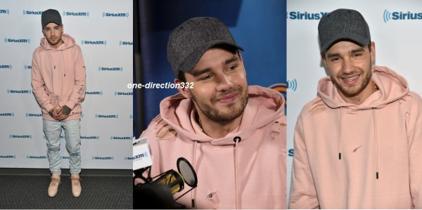 le 12 mai 2017 - liam à la radio disney à los angeles