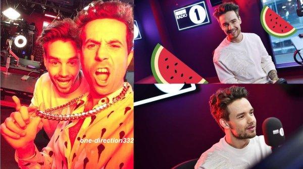 le 19 mai 2017 - liam à la BBC Radio One à londres