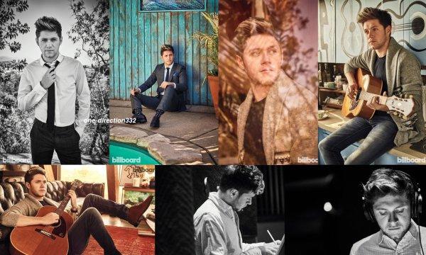 voici un nouveau photoshoot de niall pour Billboard Magazine 2017