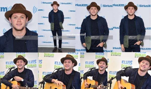 le 30 mai 2017 - niall à la SiriusXM Studios new york city