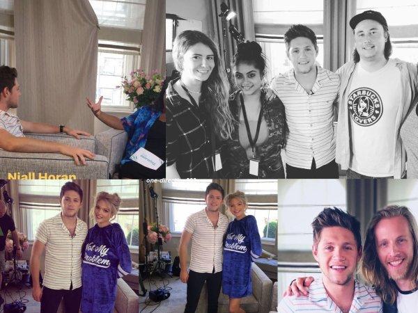 le 7 juin 2017 - niall à été interviews à londres
