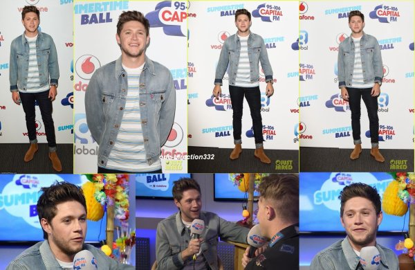 le 10 juin 2017 - niall et liam à la Capital's Summertime Ball 2017 at Wembley Stadium à londres
