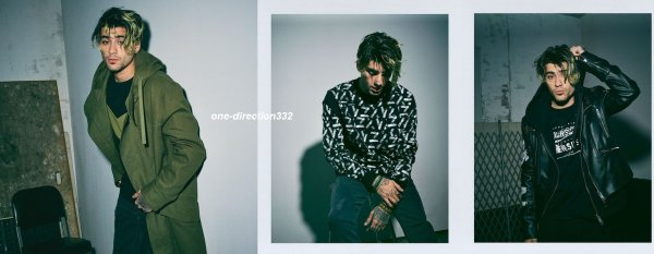 voici un nouveau photoshoot de zayn pour for Versace - Versus campaign #2 2017