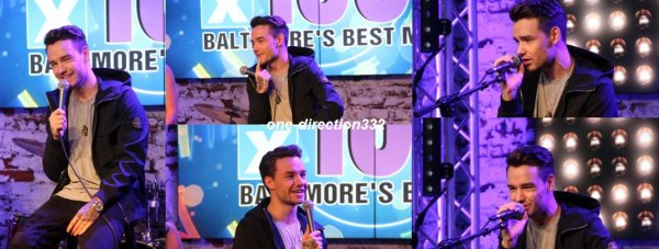le 26 juin 2017 - liam à la 106.5's 'The Up Close Studio'à Baltimore